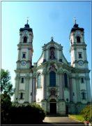 Abbaye d'Ottobeuren ; superbe église baroque de Souabe (Tourisme Bavière) 1