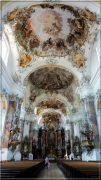 Abbaye d'Ottobeuren ; superbe église baroque de Souabe (Tourisme Bavière) 3