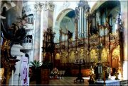 Abbaye d'Ottobeuren ; superbe église baroque de Souabe (Tourisme Bavière) 39