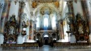 Abbaye d'Ottobeuren ; superbe église baroque de Souabe (Tourisme Bavière) 40