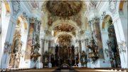 Abbaye d'Ottobeuren ; superbe église baroque de Souabe (Tourisme Bavière) 43