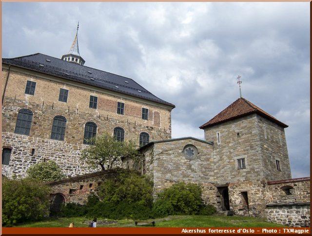 Akershus quartier medieval oslo