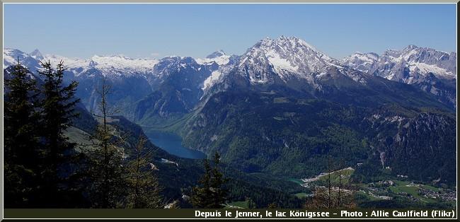 Jenner konigssee baviere berchtesgaden