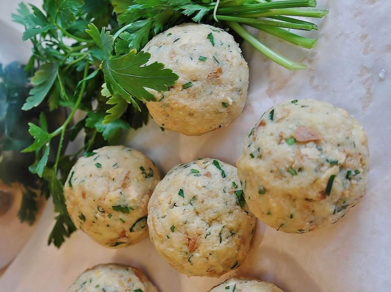 Knödels de Bavière aux légumes