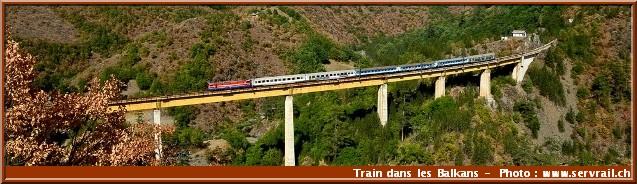 Train balkans