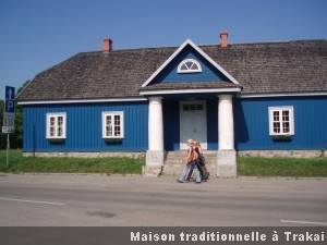 Trakai maison traditionnelle