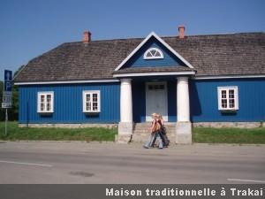 Trakai maison traditionnelle