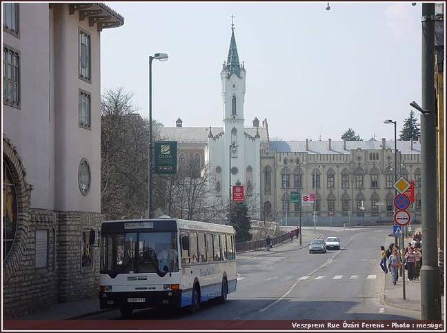 Veszprém Angolkisassz Rue Óvári Ferenc