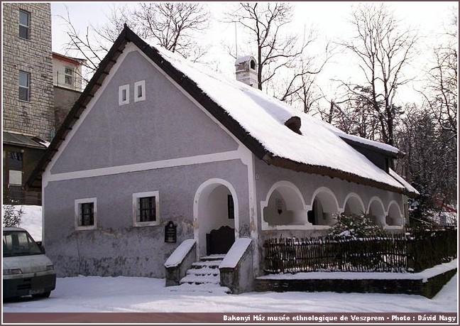 Veszprem Bakonyihaz musée ethnologique