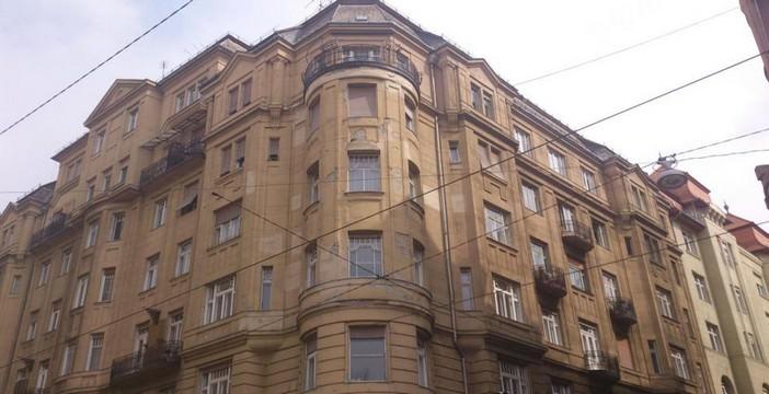 Budapest immeuble Art Nouveau