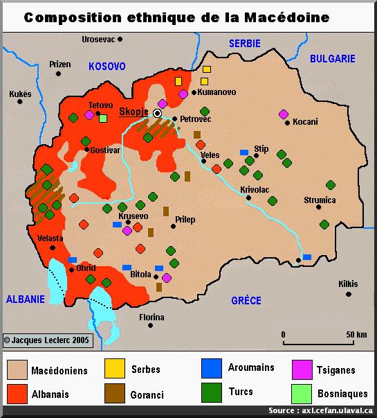 macedoine carte ethnies