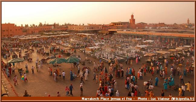 marrakech Jemaa-el-Fna