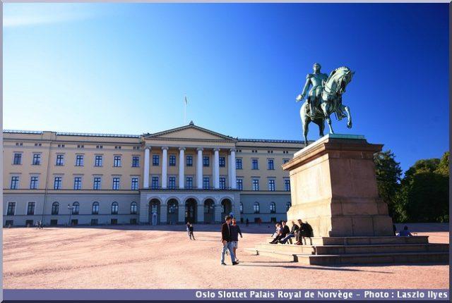 oslo palais royal norvege slottet