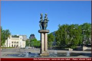oslo nobelssenter statue