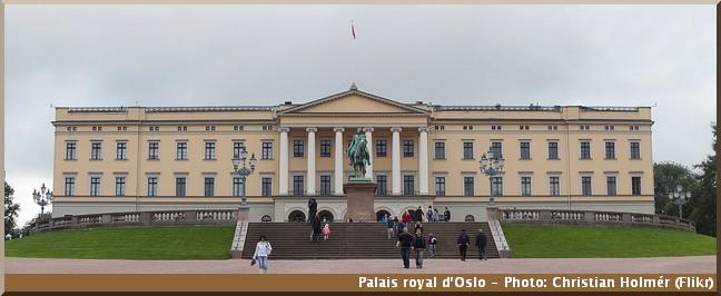 oslo palais royal de norvege