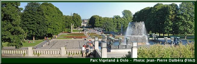 oslo parc vigeland Oeuvre de Gustav Vigeland