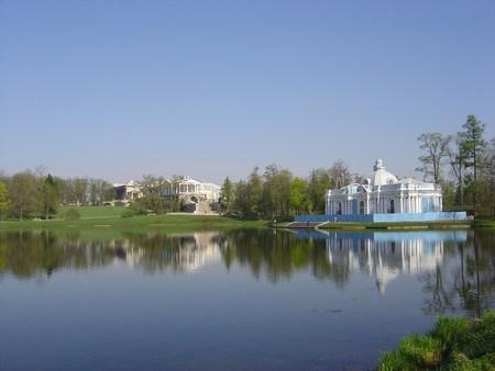 saint petersbourg Grand Palais Catherine lac