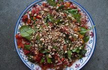 salade anatolienne cuisine turque