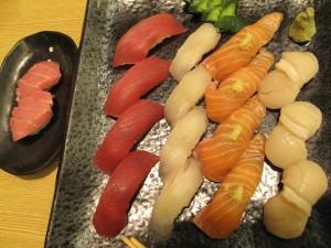 sashimi cuisine japonaise