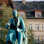 statue Hans Christian Andersen danemark