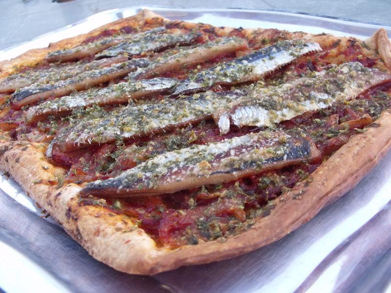 tarte à la sardine