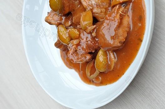 Recette corse veau aux olives vertes la mode corse for Cuisine a la mode