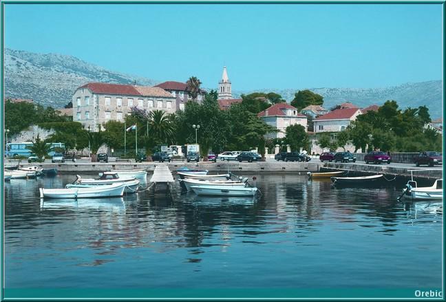 Orebic croatie
