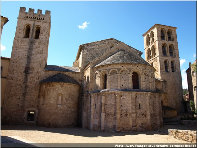 abbaye caunes minervois