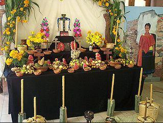 autel fete des morts mexique