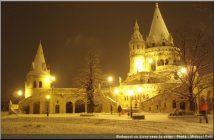 budapest en hiver sous la neige