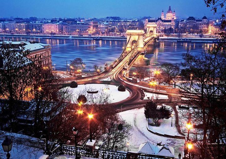 Week-end Budapest : vol htel avec m