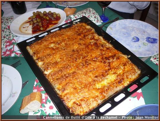 cannellonis de noel espagne