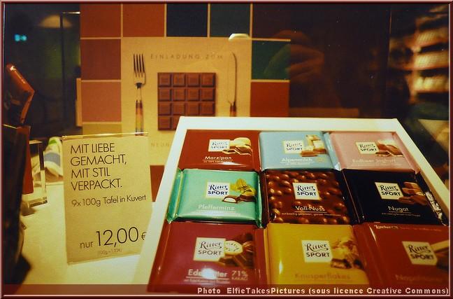 chocolat ritter schokolade
