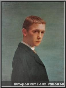 felix vallotton autoportrait adolescent