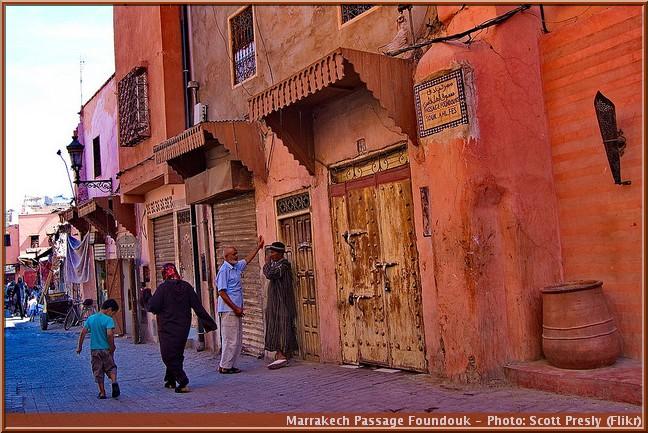 marrakech passage foundouk