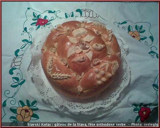 slava serbie slavski kolac