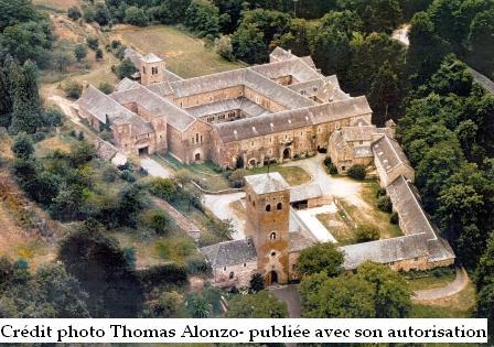 Abbaye bonnecombe en Aveyron