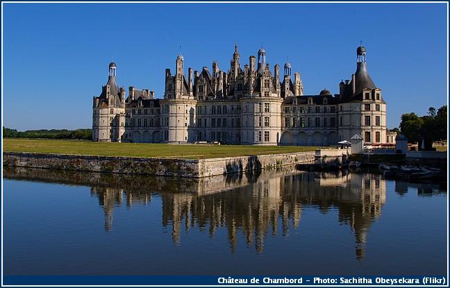 châteaux de la loire chateau chambord