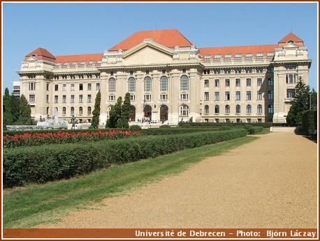 debrecen universite hongrie