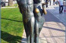 makarska riva statues