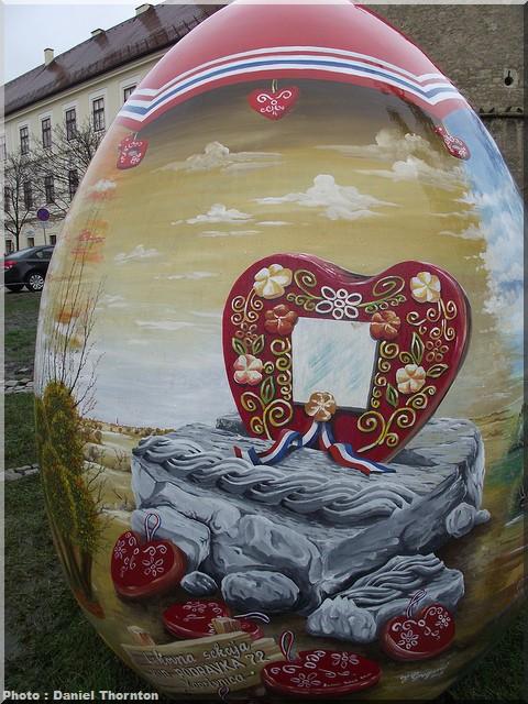 Pisanice, les oeufs décorés, tradition de Pâques en Croatie du Nord 2