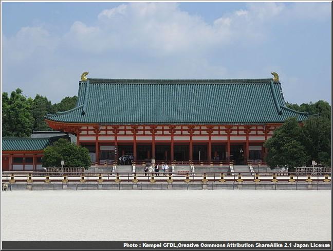 sanctuaire heian Daigokuden