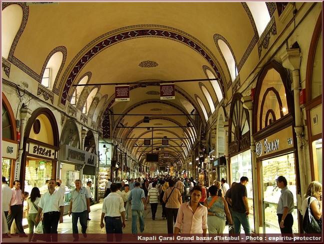 Kapali Carsi Grand Bazar Istanbul