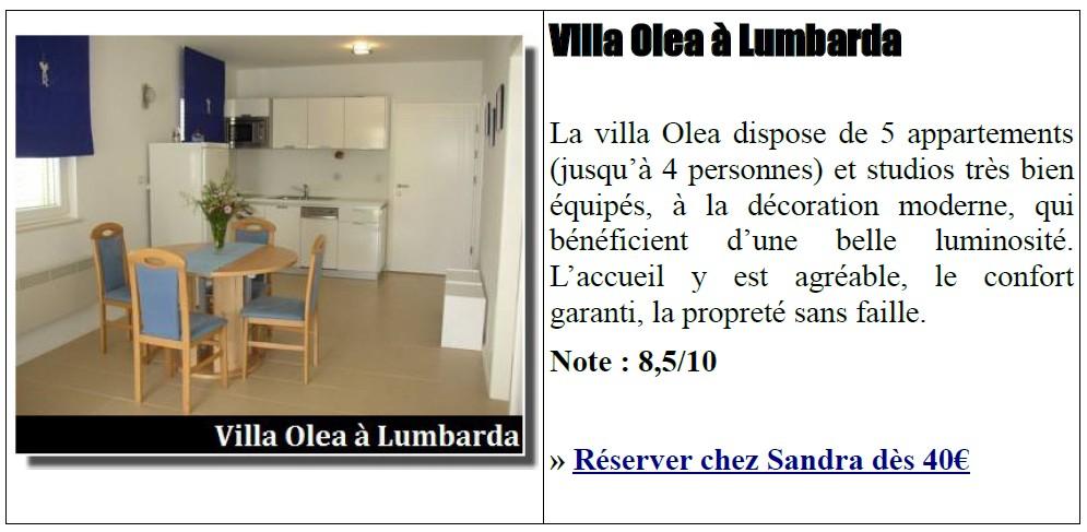 Villa Olea Lumbarda