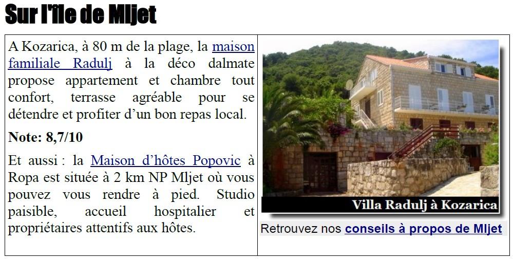 Villa Radulj Mljet