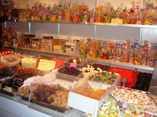 bonbons foire des rois barcelone