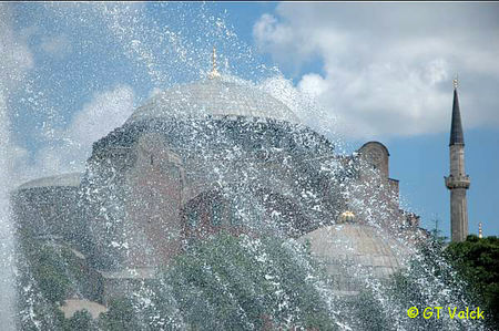 sainte sophie istanbul fontaine