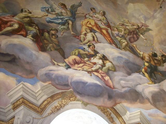 vienne Karlskirche fresque