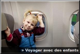 voyage avec des enfants