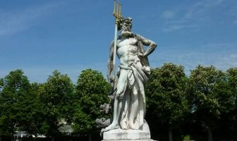 Pluton trident chateau Nymphenburg
